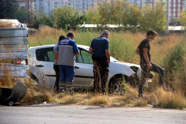 Kocasinan ilçesinde kaza: 1 yaralı