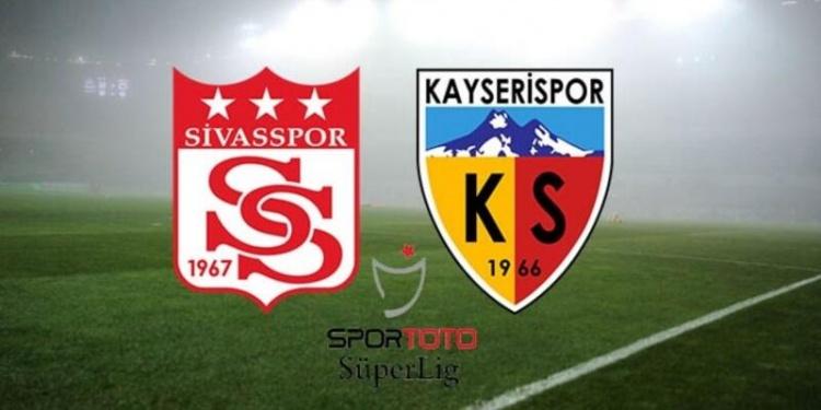 Süper Lig: Kayserispor:1 Sivasspor: 3